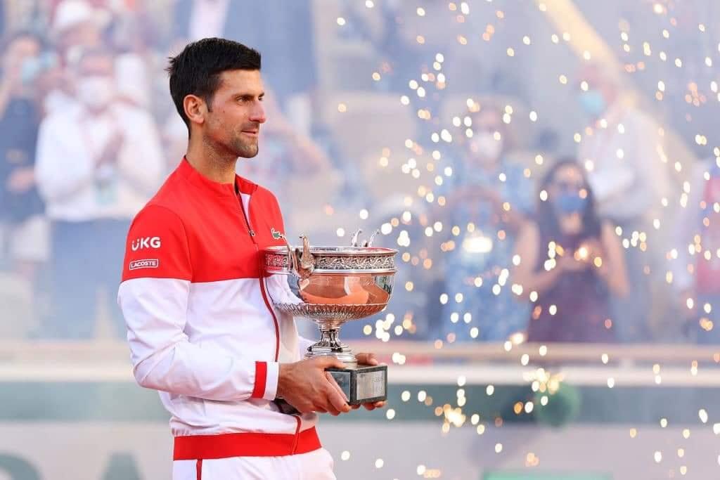 Djokovic thâu tóm cả hai Grand Slam trong nửa đầu năm 2021. Ảnh: AP