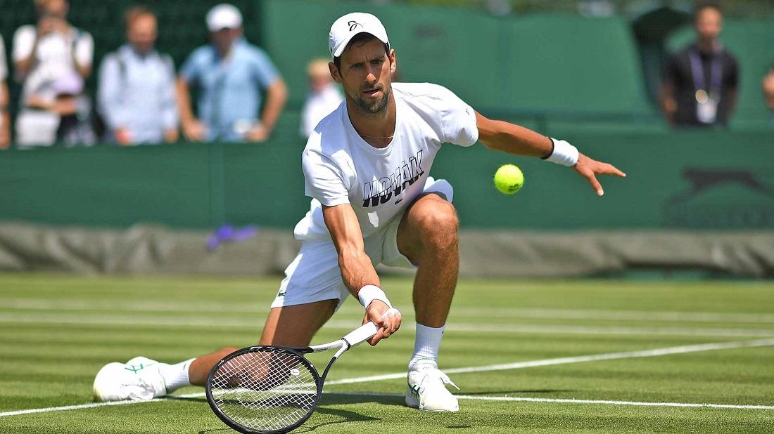 Djokovic vô địch hai giải Wimbledon gần nhất được tổ chức, các năm 2018 và 2019. Ảnh: ATP.