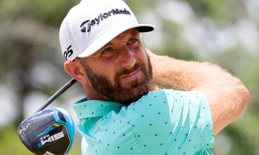 Johnson masuk ke 3 besar hadiah uang setelah 14 tahun bermain golf profesional.  Foto: AP