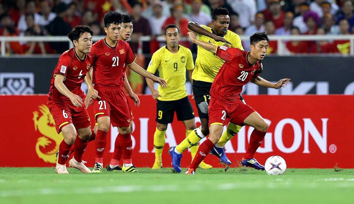 ทีมเวียดนามเอาชนะมาเลเซียที่บ้านในนัดแรก
