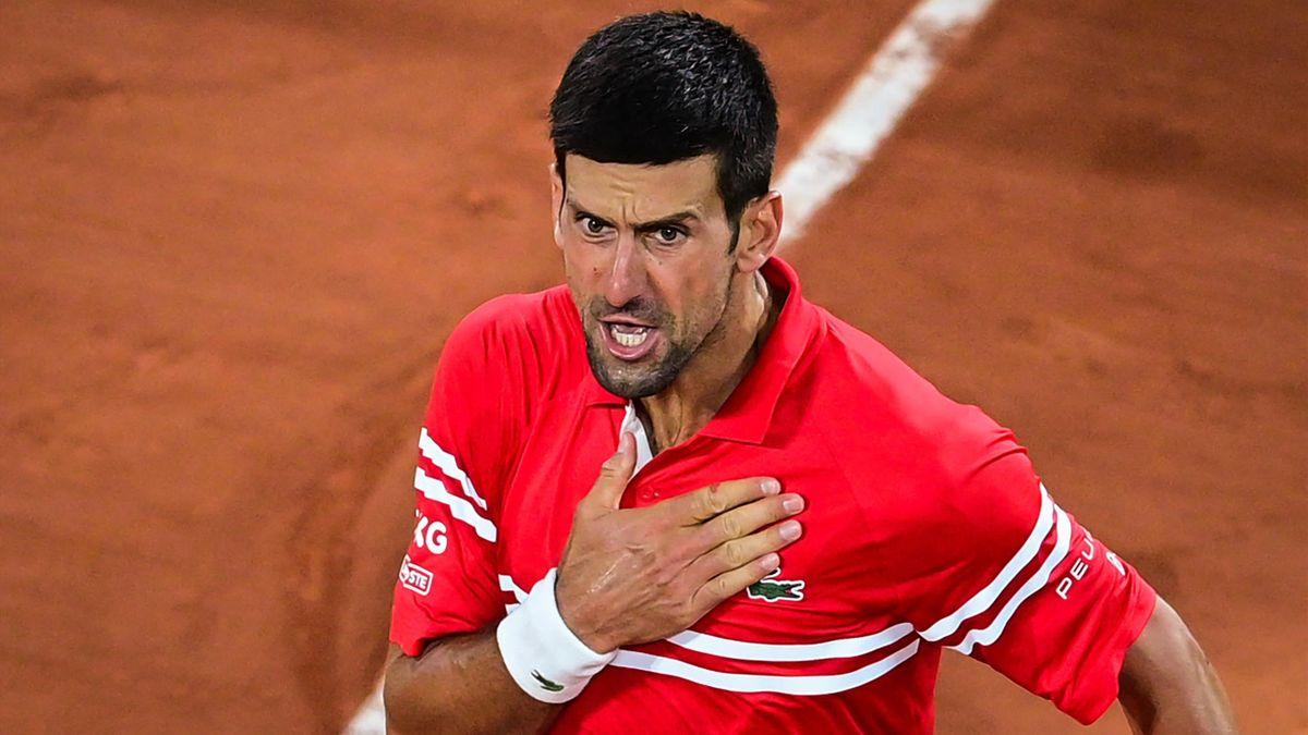 Hạ Nadal tại Roland Garros được xem là thử thách khó bậc nhất trong làng thể thao, nhưng Djokovic làm được. Ảnh: ATP