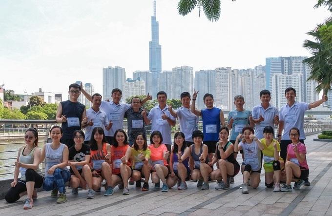Quá nửa cán bộ nhân viên Công ty Việt Hoá Nông là runner thích chạy đường dài.