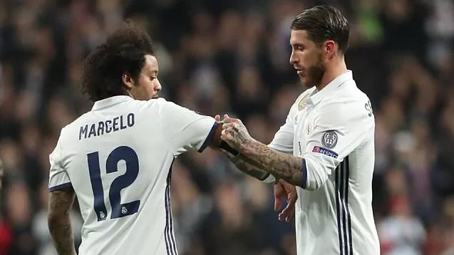 Marcelo nhiều khả năng thay Ramos làm đội trưởng. Ảnh: Marca.