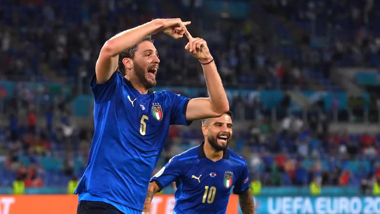 Italy bất bại từ cuối năm 2018. Ảnh: Reuters.