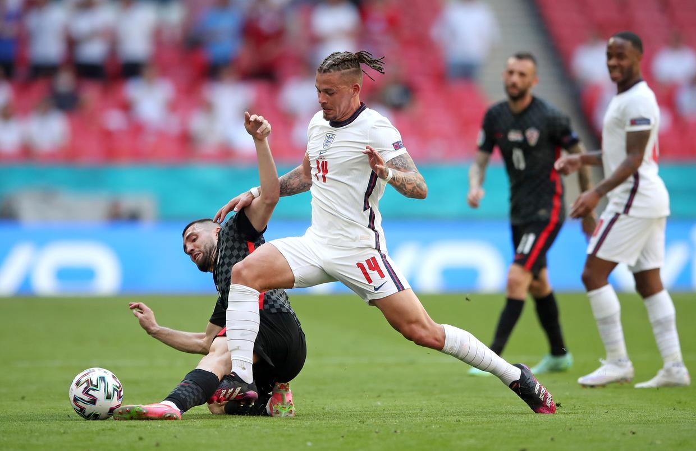Kalvin Philips là một phát hiện của tuyển Anh tại Euro 2021, giúp HLV Southgate đa dạng hoá các mảng miếng chiến thuật. Ảnh: PA