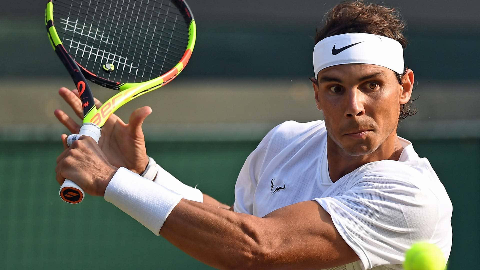 Nadal dồn sức tìm kiếm danh hiệu Grand Slam thứ 21 tại Mỹ Mở rộng. Ảnh: ATP