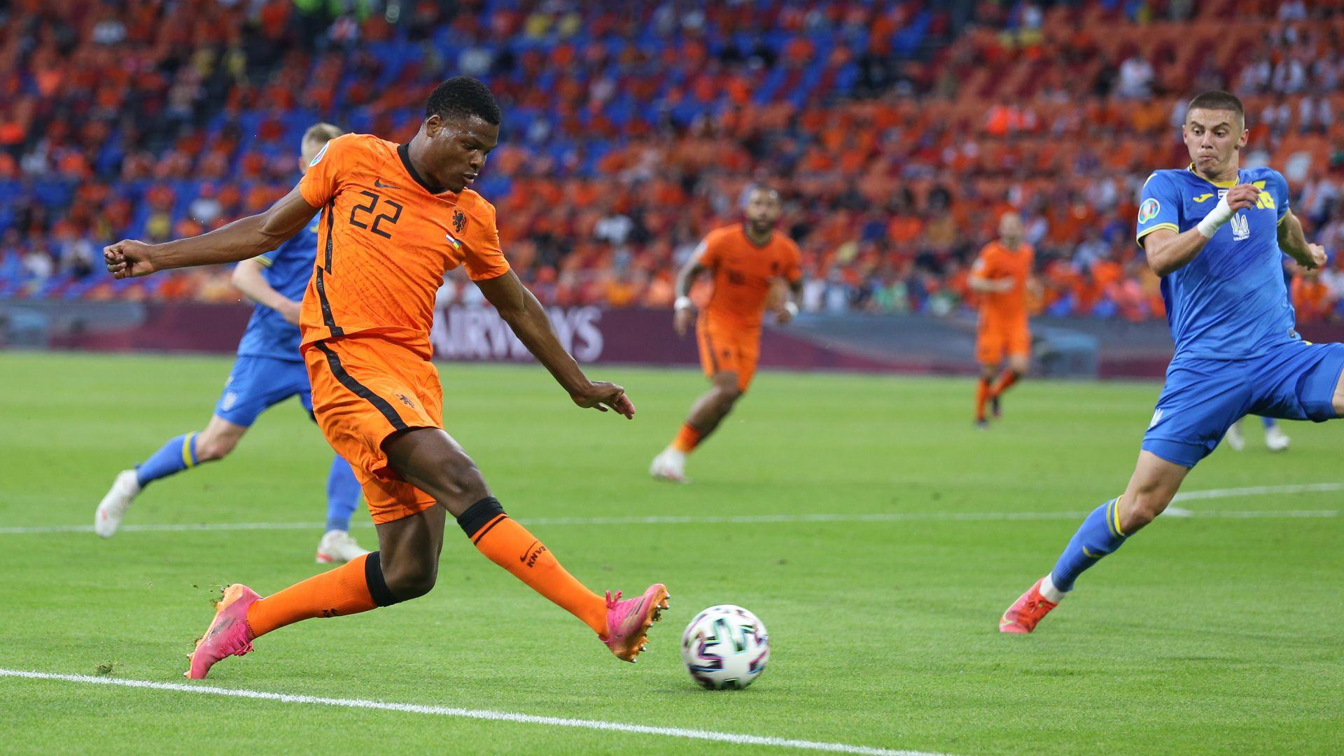 Hà Lan là đội duy nhất chắc ngôi nhất bảng sau hai lượt trận. Ảnh: KNVB