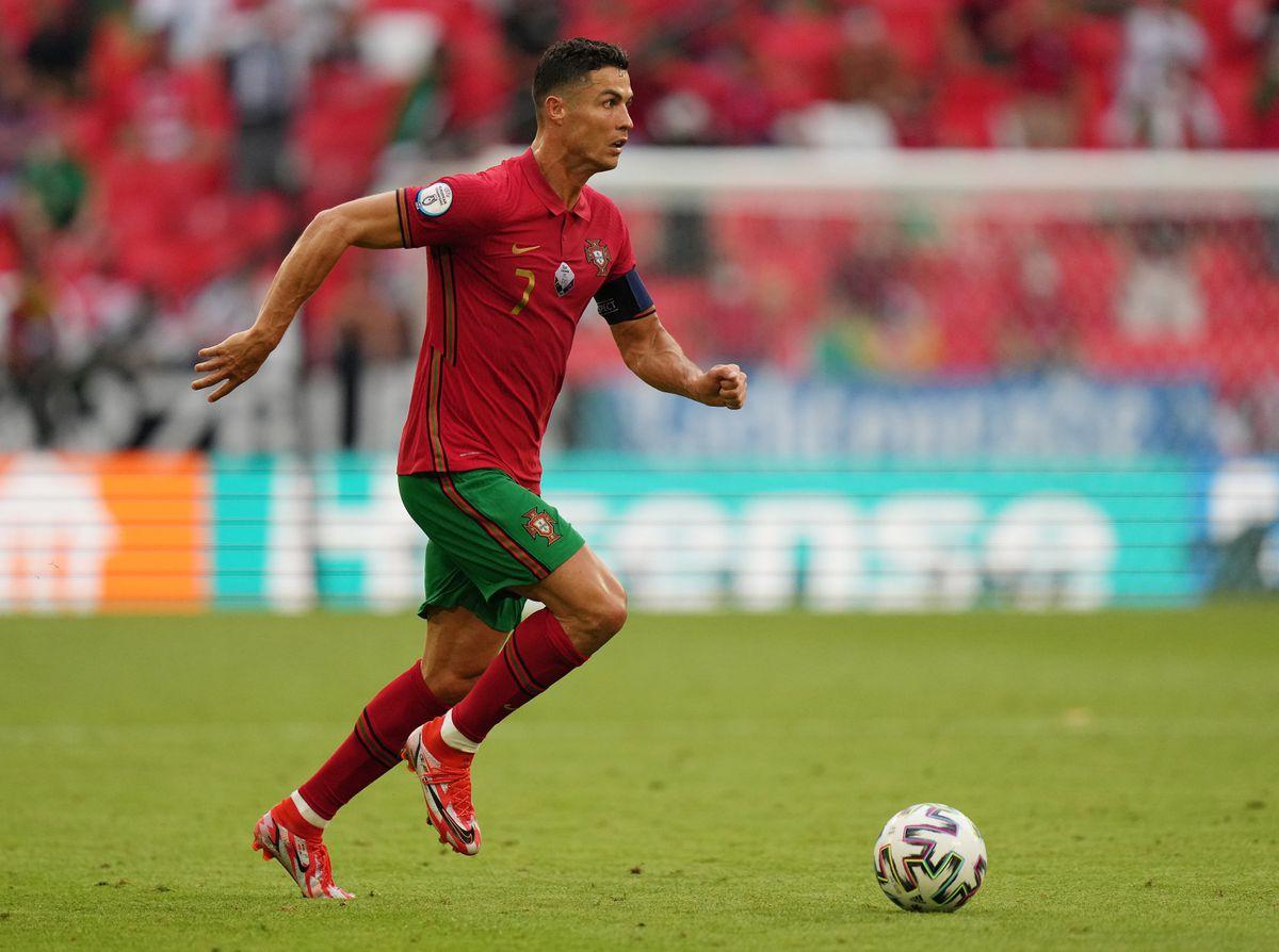 Ronaldo ghi một bàn, kiến tạo một bàn, tạo ra ba cơ hội trong trận thua Đức hôm 19/6. Ảnh: Reuters