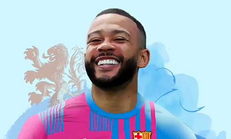 Barca เสร็จสิ้นข้อตกลงการใช้กระดาษกับ Depay  ภาพ: ESPN