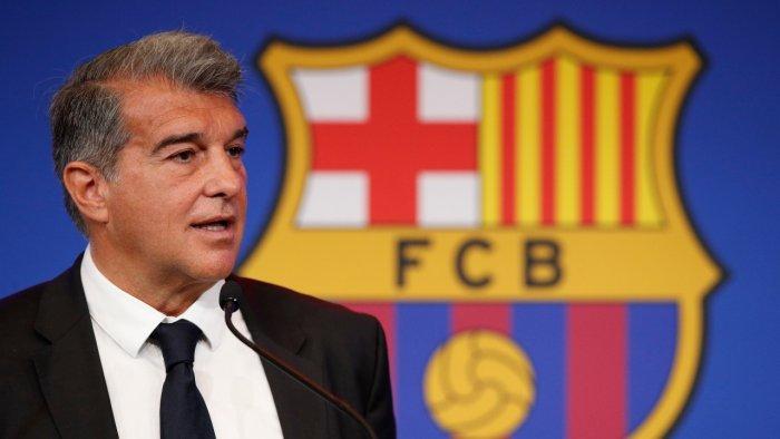 การปรับโครงสร้างของ Barca นั้นไม่ง่ายอย่างที่ Laporta คิดไว้ในตอนแรก  ภาพ: สำนักข่าวรอยเตอร์