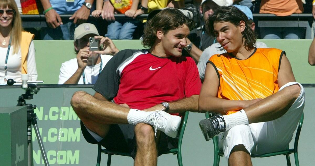 Nadal và Federer gặp nhau 40 lần trong sự nghiệp và tay vợt Tây Ban Nha thắng 24. Ảnh: ATP