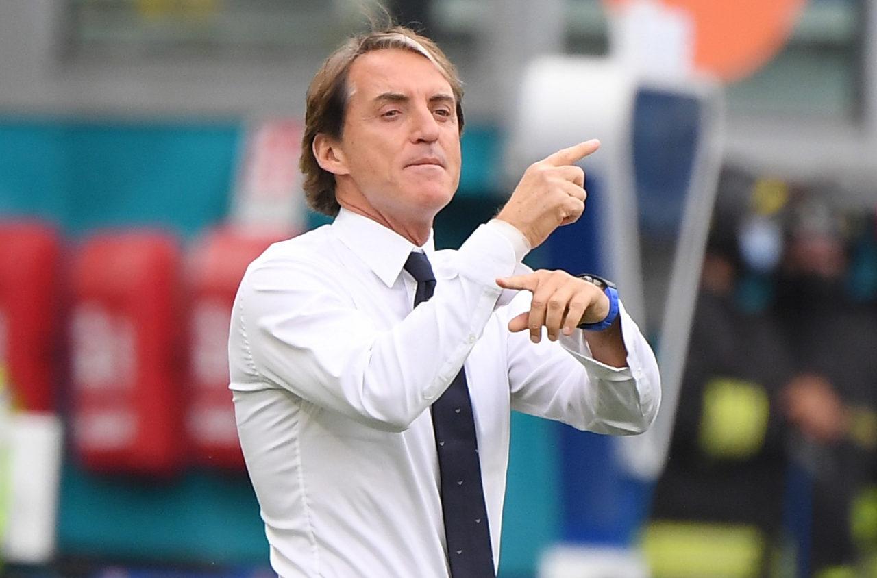 Italy của Mancini là đội toàn thắng vòng bảng Euro đầu tiên kể từ Đức năm 2012. Ảnh: AP.