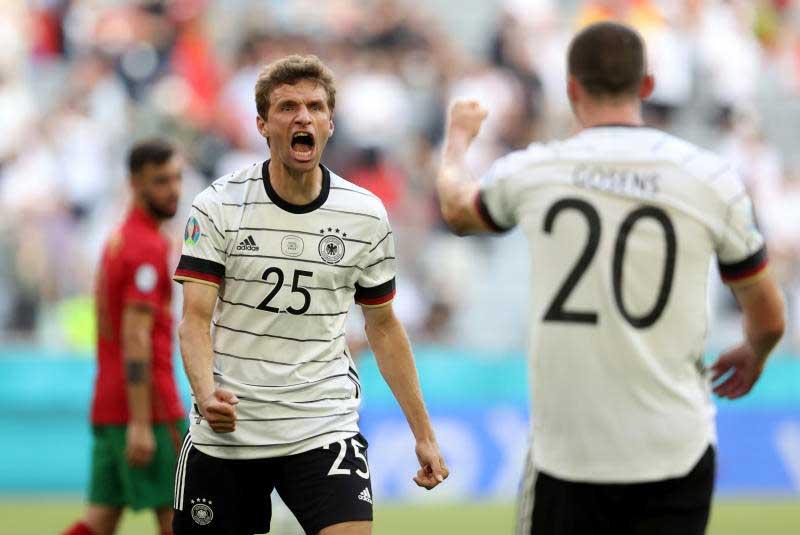 Đức mới chỉ có ba điểm sau hai trận đầu ở bảng F. Ảnh: Reuters.