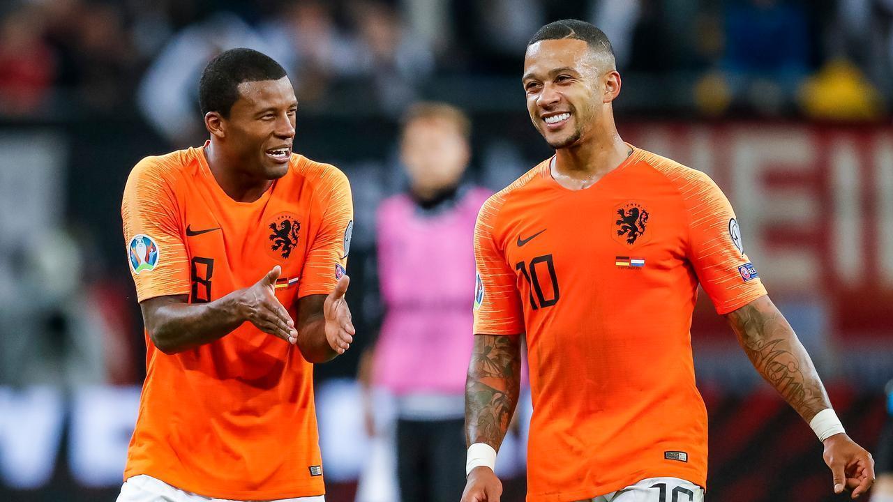 Belanda adalah salah satu dari tiga tim yang memenangkan semua babak grup Euro.  Foto: Langit