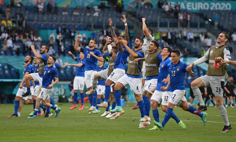 Italia kembali ke posisi kandidat dengan vitalitas yang sama sekali baru.  Foto: Reuters.