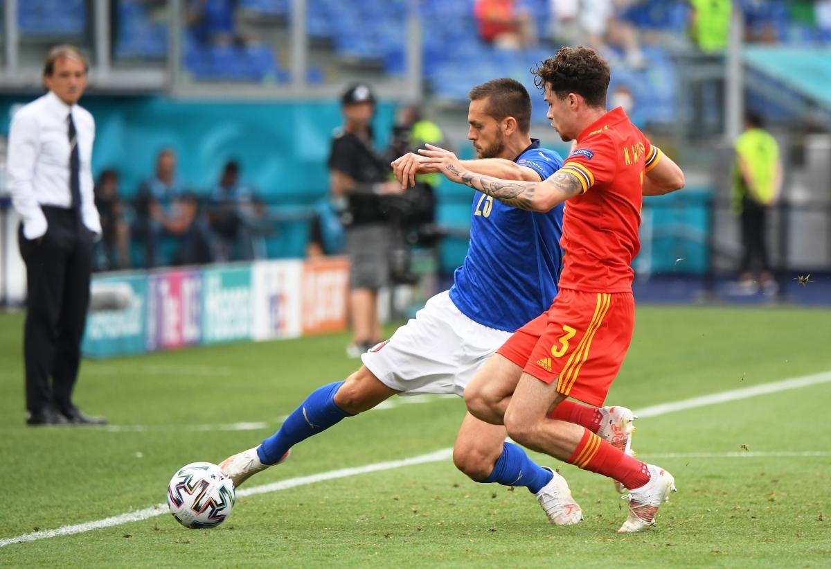 Thầy trò Mancini sẽ gặp Áo ở vòng 1/8 Euro, trước khi nhiều khả năng gặp Bỉ ở tứ kết. Ảnh: Reuters.