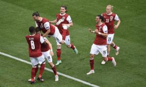 Áo qua mặt Ukraine ở bảng C