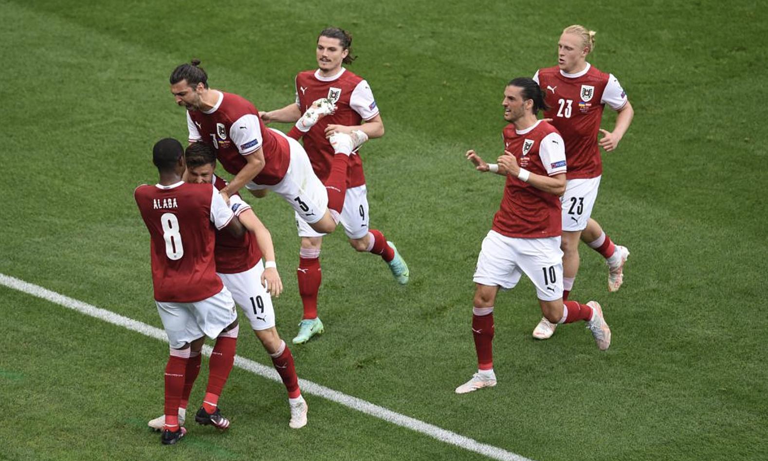 Nếu duy trì phong độ này, Áo có thể thành đối thủ khó chịu với Italy ở vòng 16 đội. Ảnh: UEFA