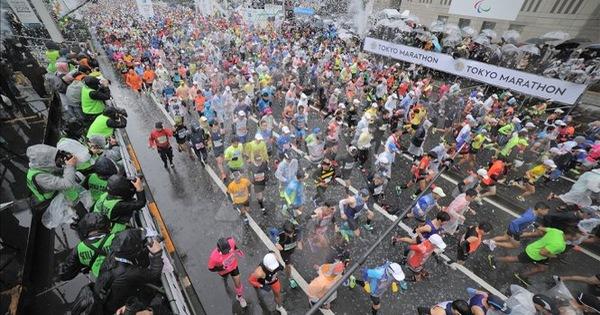 Tokyo Marathon 2019 (Ảnh: Anadolu Agency)