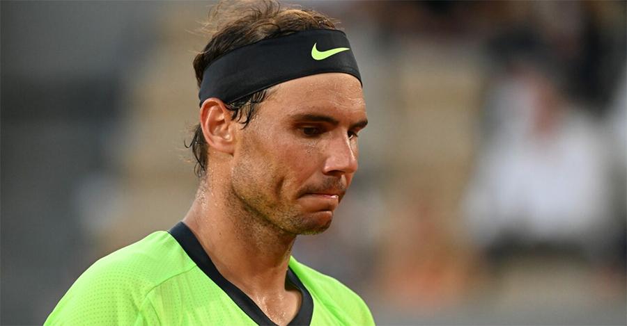 Nadal sẽ có quãng nghỉ dài hai tháng sau thất bại ở bán kết Roland Garros trước Djokovic. Ảnh: ATP