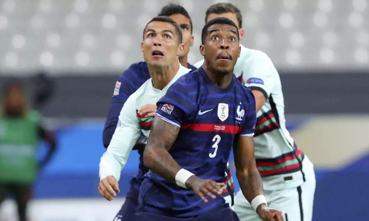 Ronaldo liệu có thể cứu Bồ Đào Nha khi đối thủ là tuyển Pháp. Ảnh: AP.