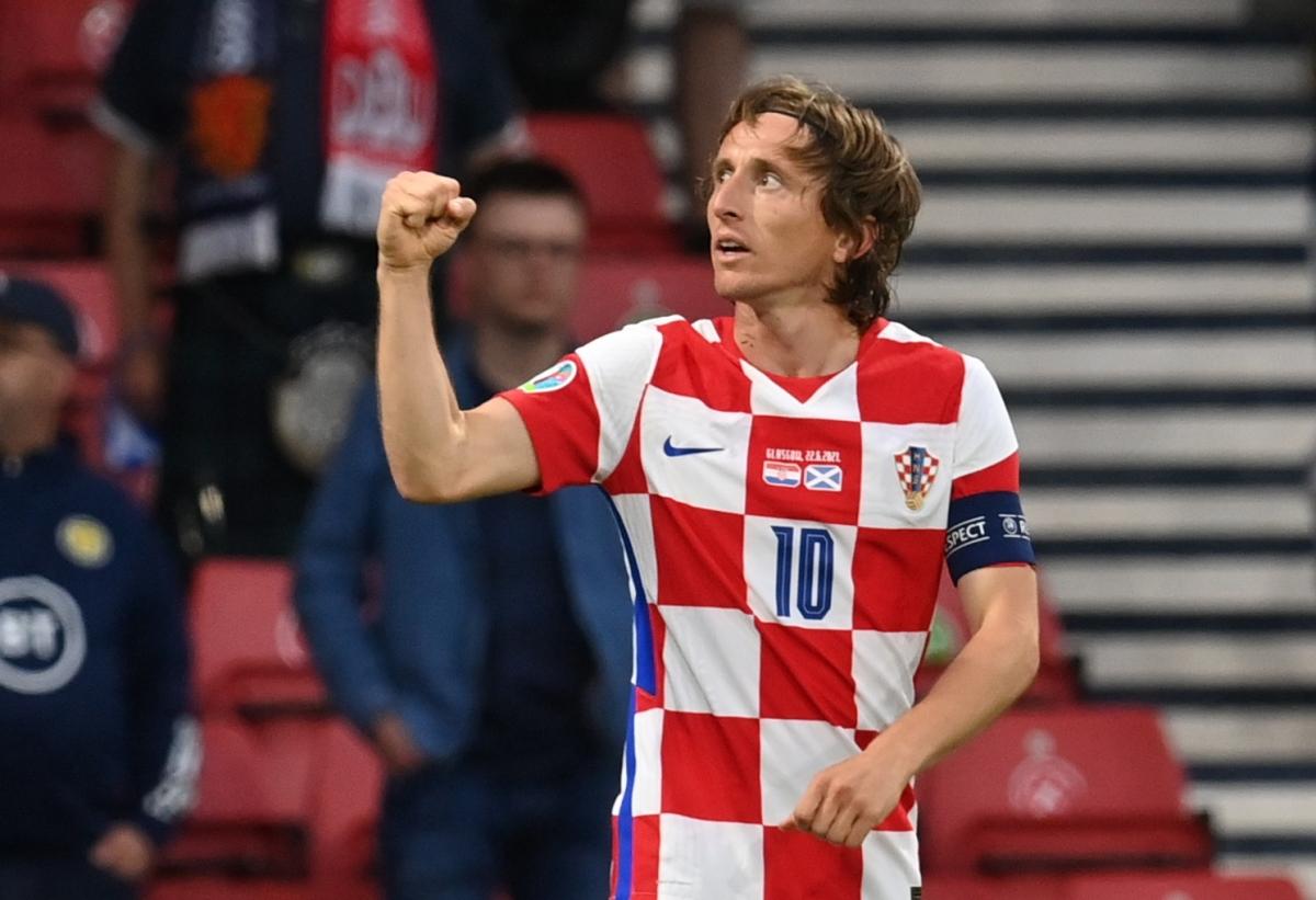 Modric dan Kroasia memasuki babak 1/8 sebagai yang kedua di Grup D. Foto: Reuters.