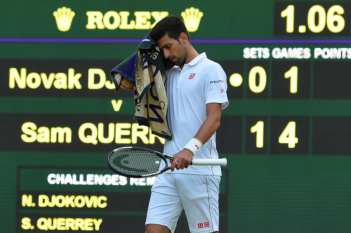Djokovic từng thua sốc ở Wimbledon 2016 dù vừa đoạt bốn Grand Slam liên tiếp. Ảnh: ATP