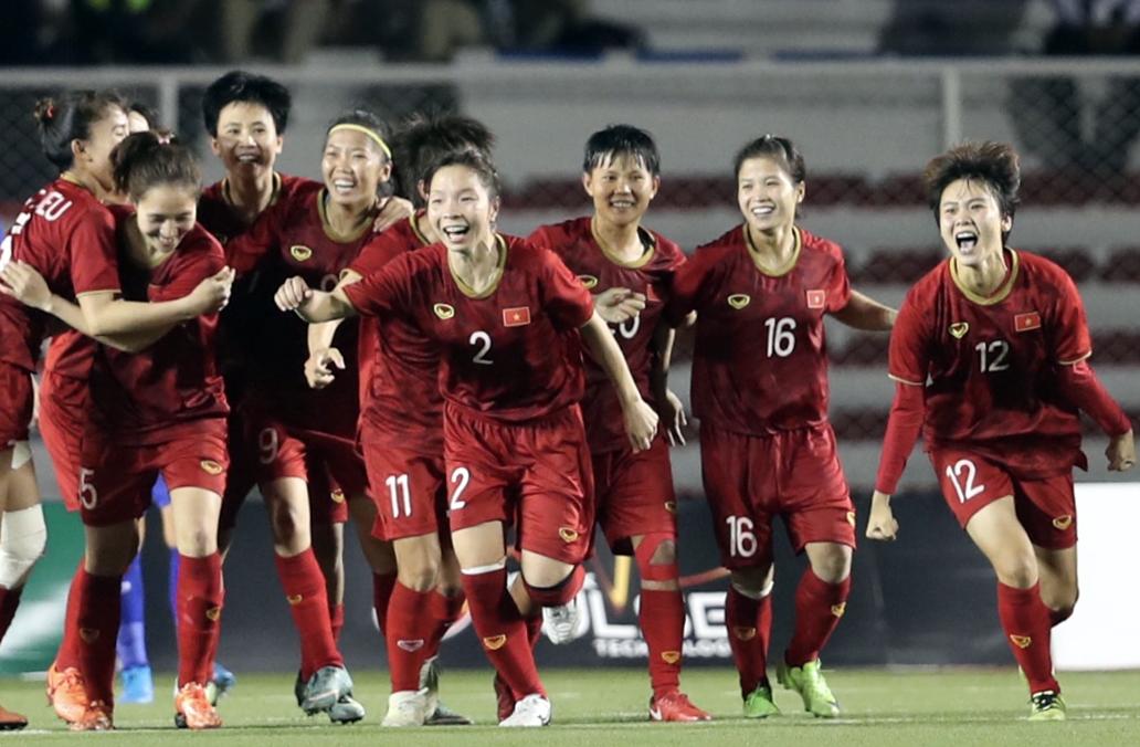 ผู้เล่นหญิงเวียดนามจะพบกับคู่ต่อสู้ที่ด้อยกว่าในรอบคัดเลือกเอเชียนคัพ 2022 ภาพ: Duc Dong