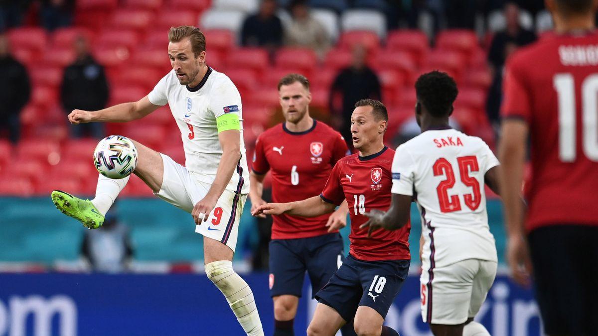 Harry Kane belum mencetak gol dalam tiga pertandingannya bersama Inggris di babak penyisihan grup.  Foto: PA