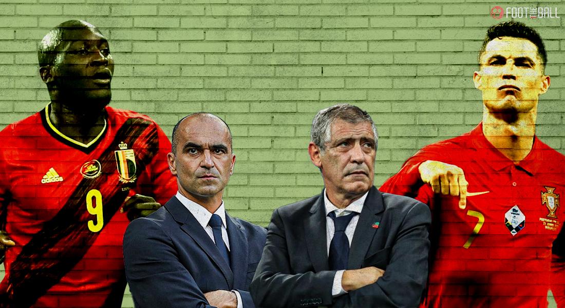 Trận Bỉ - Bồ Đào Nha diễn ra lúc 2h Chủ nhật 28/6, giờ Hà Nội trên sân Wembley, London, Anh.
