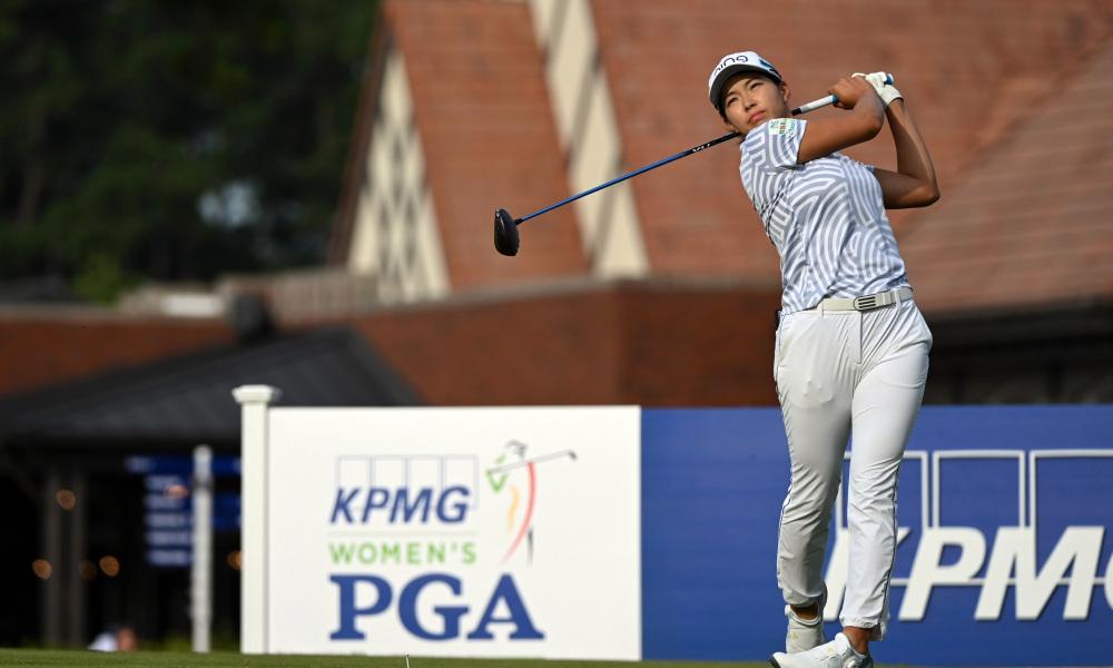 Shibuno tidak tampil baik di putaran ketiga Kejuaraan PGA Wanita pada 26 Juni.  Foto: USA Today