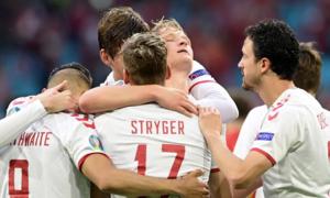 Đan Mạch thắng Xứ Wales 4-0