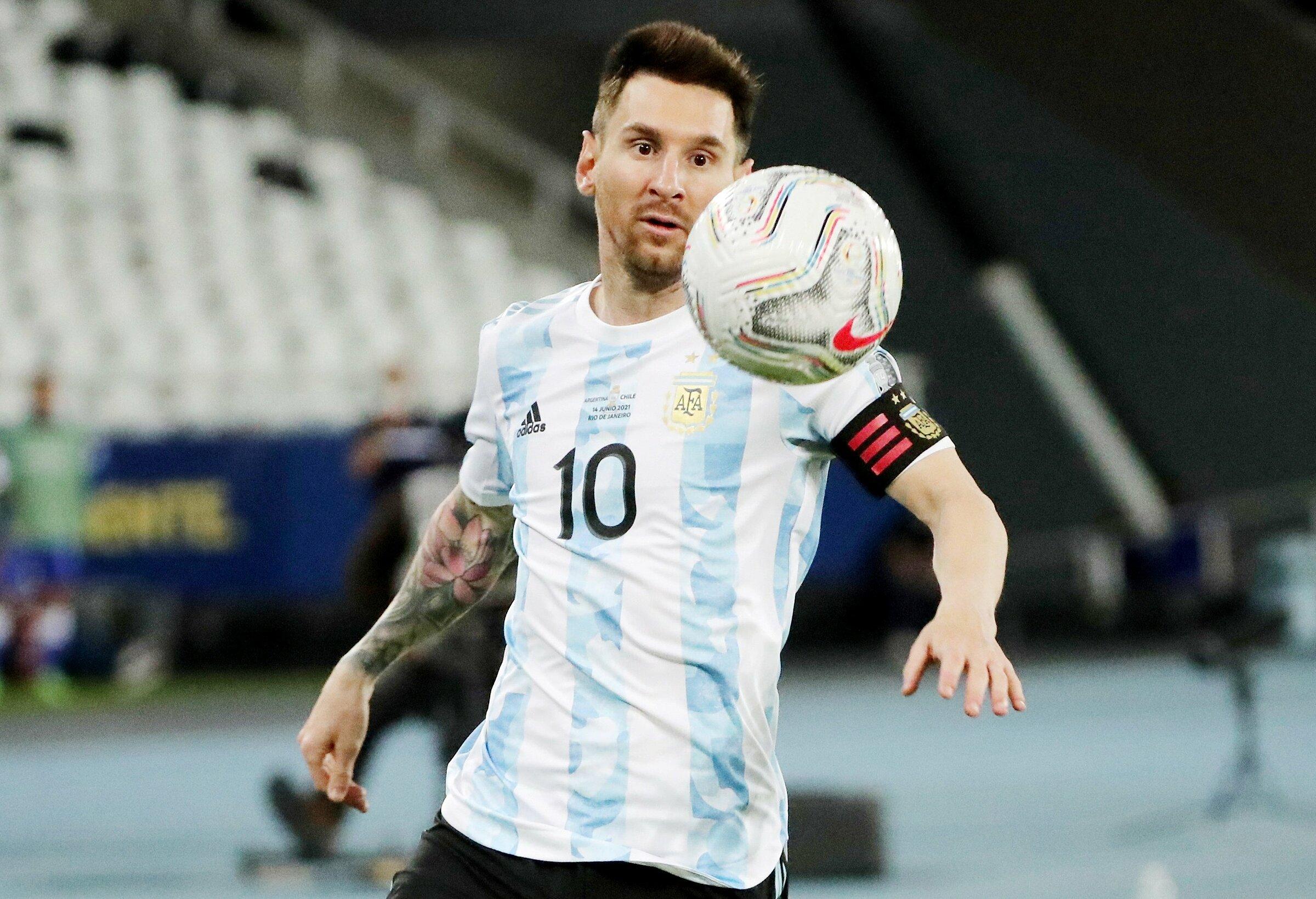 Argentina đã giành vé đi tiếp, nhưng Messi vẫn còn động lực để chiến đấu trong trận cuối vòng bảng. Ảnh: Reuters