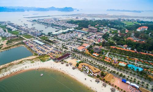 Tuan Chau Island - the expected venue of Kun Marathon Ha Long 2021.