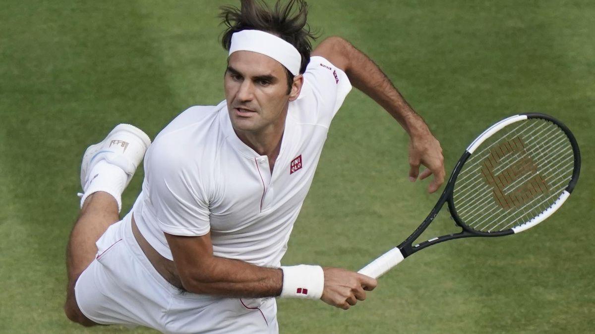 Federer chưa vào bán kết giải nào từ đầu năm 2021. Ảnh: Wimbledon