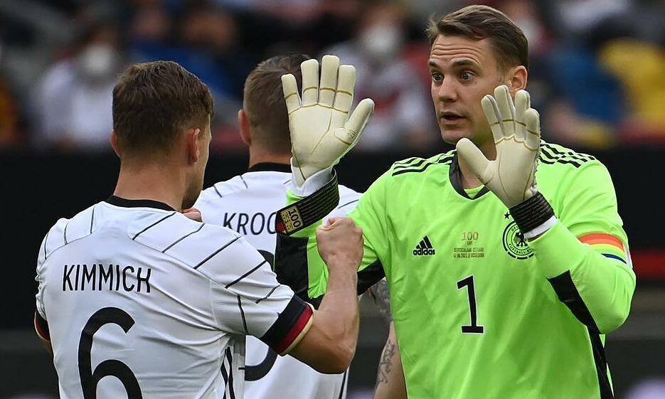Jerman dari Neuer, Kroos, Kimmich tidak terlalu mengesankan, tetapi masih mengatasi kelompok maut.  Foto: DPA