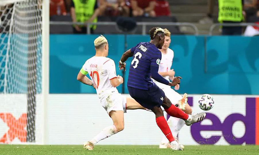 Mahakarya Pogba tidak dapat membantu Prancis bertahan di Euro.  Foto: UEFA