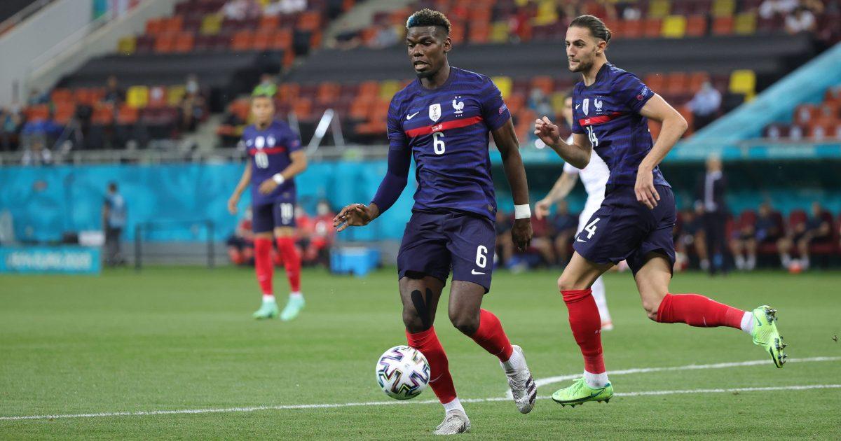 Pogba bị cho là một trong những vị trí chủ quan sau khi Pháp dẫn 3-1. Ảnh: AFP