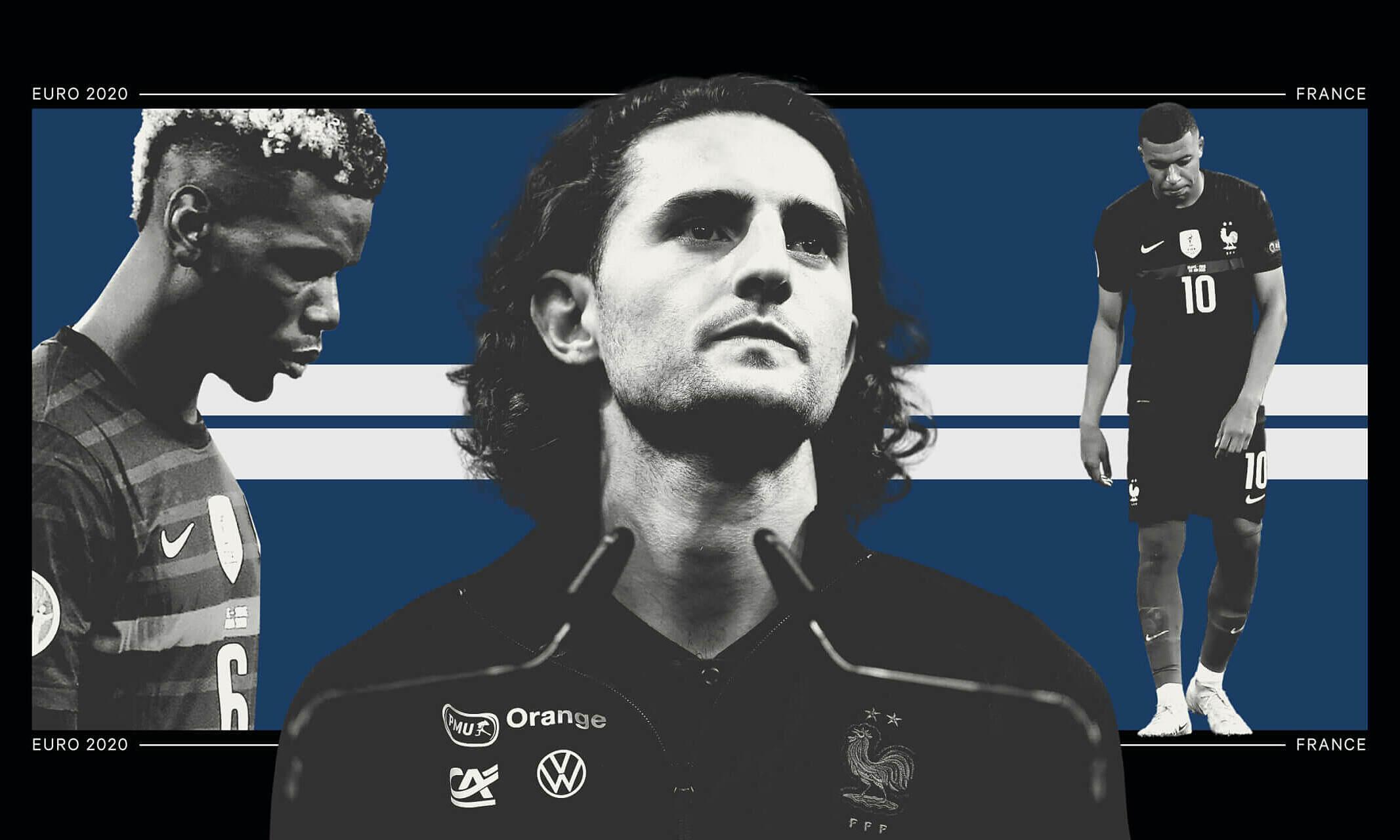 Tới khi hết vòng bảng, Pháp là ứng cử viên số một cho ngôi vô địch Euro 2021. Nhưng họ sụp đổ ngay thử thách tiếp theo, vì quá nhiều vấn đề nội bộ. Ảnh: The Athletic
