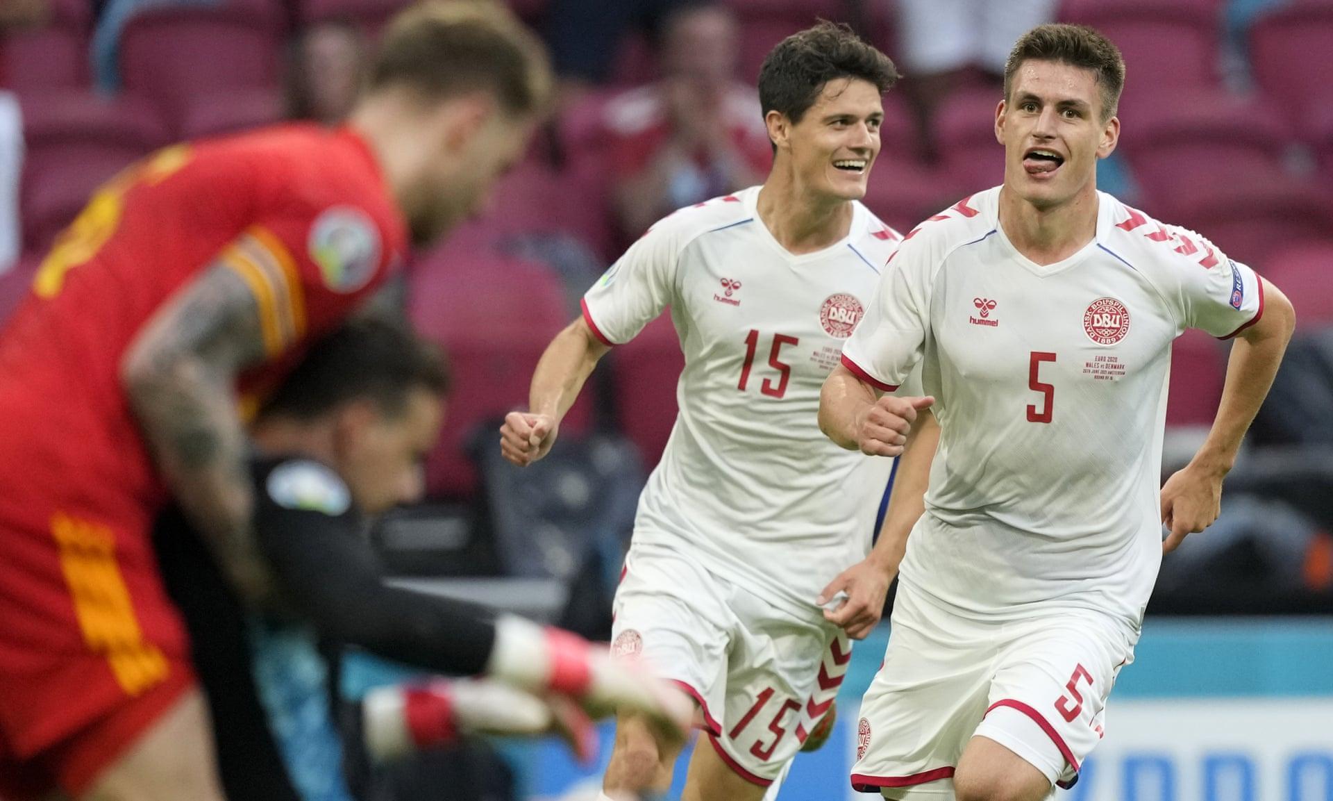 Đan Mạch là tấm gương vượt nghịch cảnh khi góp mặt tại tứ kết Euro 2021. Ảnh: AP