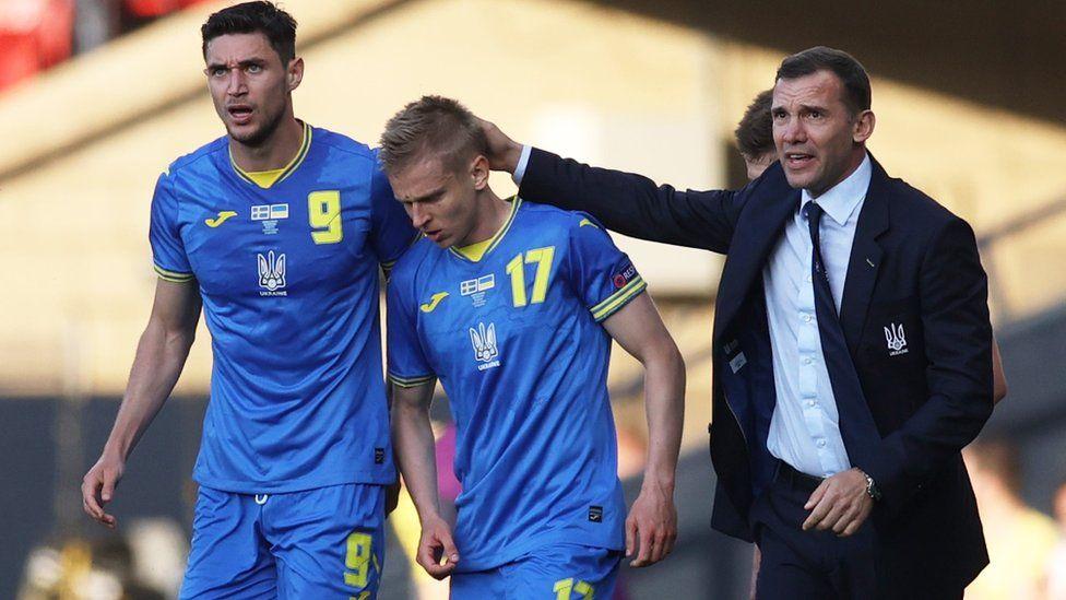 Membawa Ukraina ke perempat final Euro untuk pertama kalinya dalam sejarah adalah pencapaian yang jelas bagi karir Shevchenko.  Foto: PA