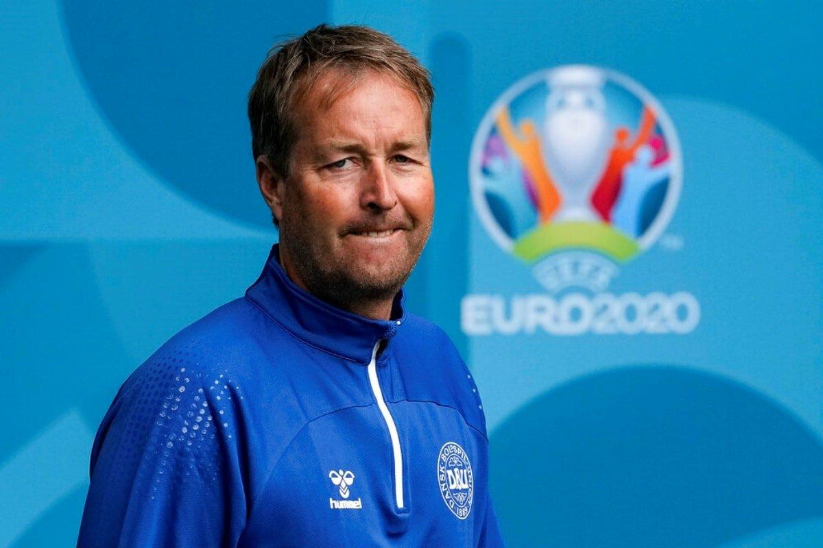 Pelatih Hjulmand dan Denmark mengejutkan ketika mereka mencapai perempat final Euro 2021. Foto: UEFA