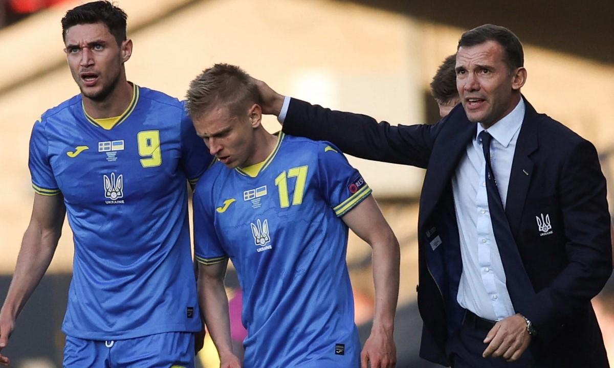 Shevchenko adalah saksi dari tonggak sejarah sepak bola Ukraina.  Foto: AFP.