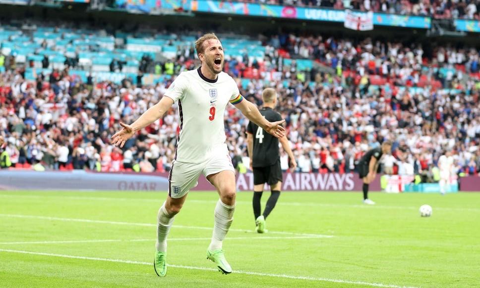 Gol melawan Jerman membantu Kane mengurangi tekanan setelah tiga pertandingan tanpa pertandingan.  Foto: Reuters.