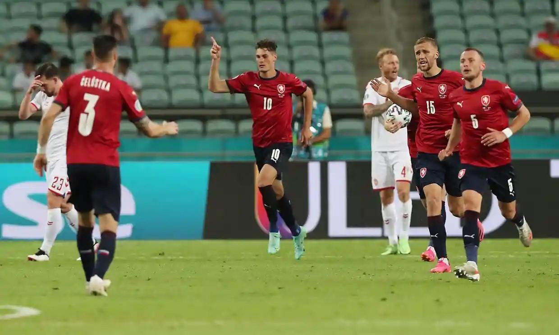 Schick terus menunjukkan pesonanya untuk mencetak gol di Euro 2021 tetapi tidak cukup untuk membantu Republik Ceko melanjutkan.  Foto: EPA.
