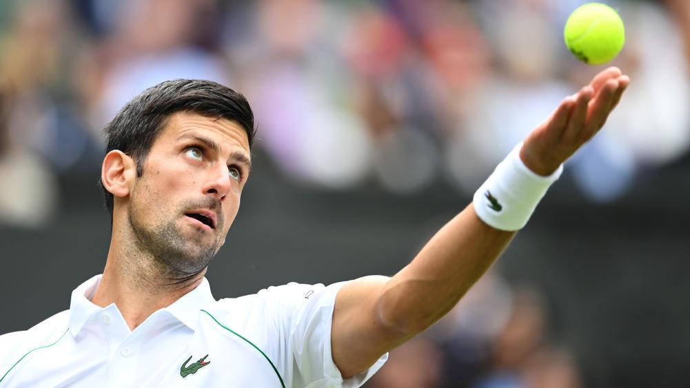 Djokovic mengincar gelar keenamnya di All England Club.  Foto: Wimbledon