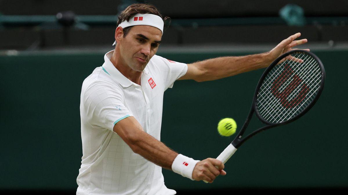 Federer memegang rekor 18 kali mencapai perempat final Wimbledon.  Foto: Eurosport