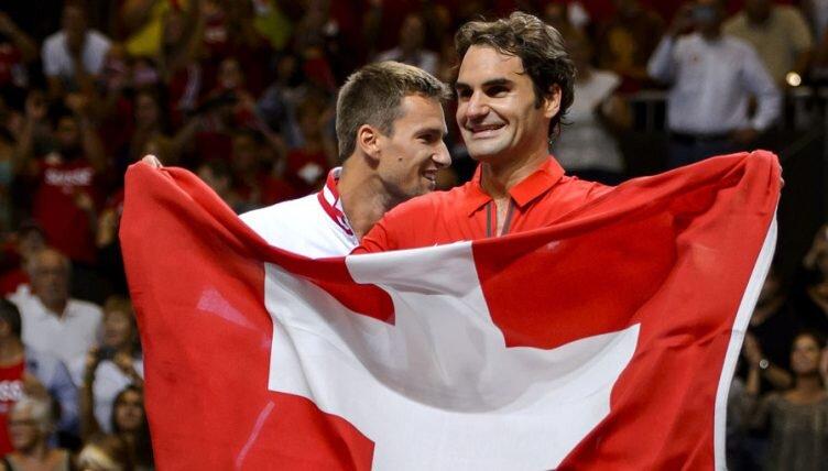 Federer akan mewakili tim tenis Swiss di Olimpiade Tokyo tahun ini.