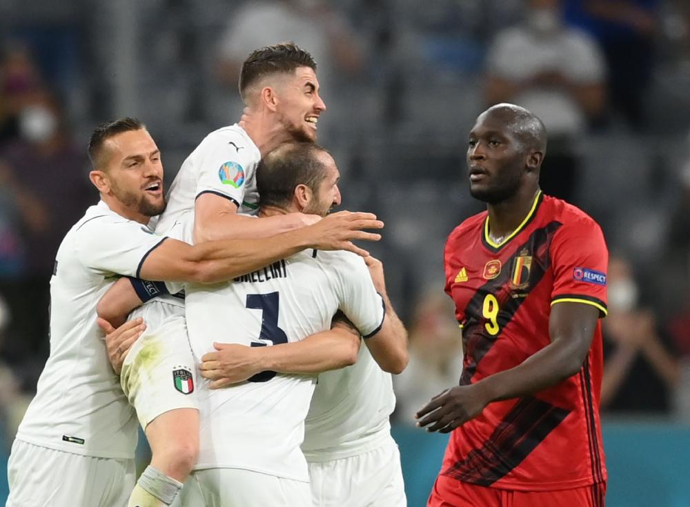 Italy bất bại 32 trận gần nhất.