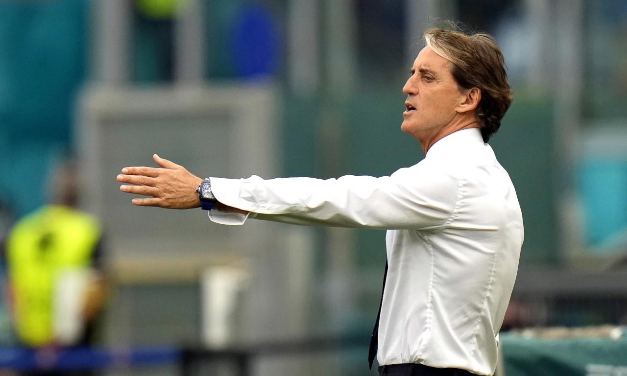 Mancini khen ngợi Tây Ban Nha và HLV Luis Enrique trước trận bán kết. Ảnh: EPA.